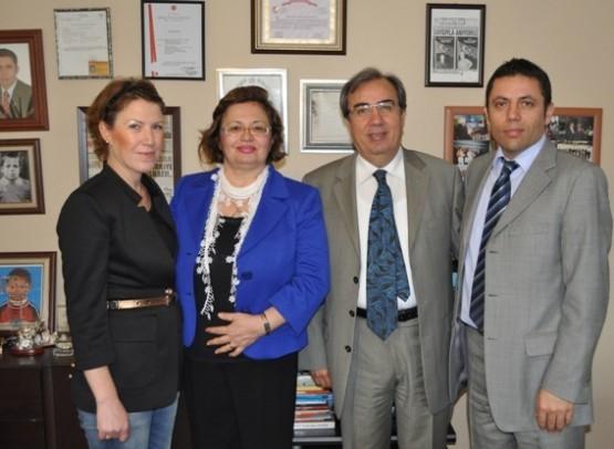 Demirkol ailesinden Haberdar ailesine ziyaret