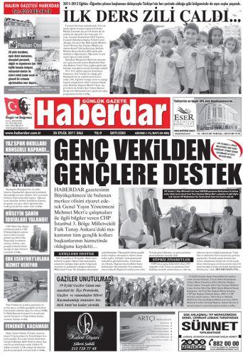 CHP İSTANBUL 3. BÖLGE MİLLETVEKİLİ FAİK TUNAY HABERDAR'I ZİYARET EDEREK ÇALIŞMALARI İLE İLGİLİ BİLGİLER VERDİ.