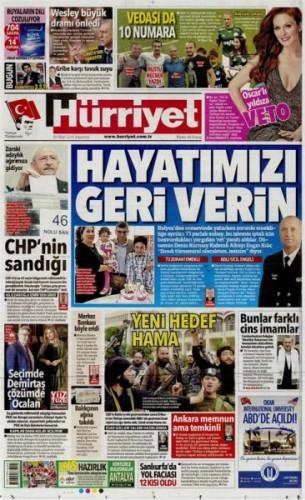 Dün yapılan CHP ön seçimlerini yandaş medya görmezden geldi.