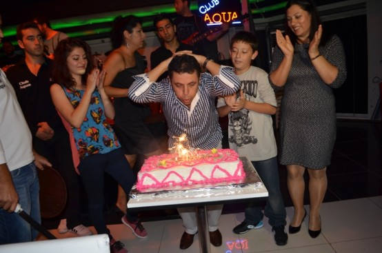 Mehmet Mert doğum günü partisi...