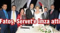 Fatma Sarıbıyık ve  Servet Yıldırım evlendi...