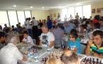 Babalar ve oğullar satrançta kapıştı