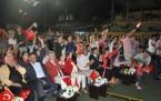 ERGUVAN FESTİVALİ'NDE ZAFER BAYRAMI COŞKUSU