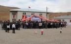 Vehbi Orakçı okulunu görkemli bir tören ile açtı