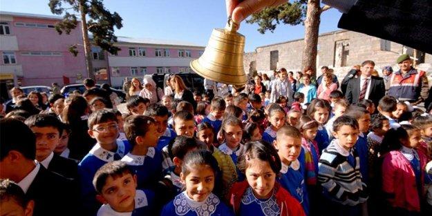 18 milyon öğrenci ders başı yapacak