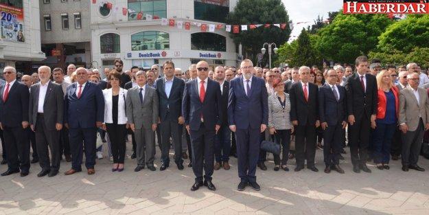 19 Mayıs Atatürk'ü Anma, Gençlik ve Spor Bayramı Çatalca'da törenlerle kutlandı