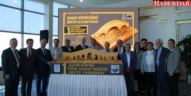 1. Altın Köprü Beste Yarışması'nda ödül töreni heyecanı