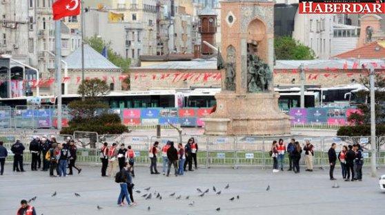 1 Mayıs için İstanbul'da 30 bin polis görev yapacak