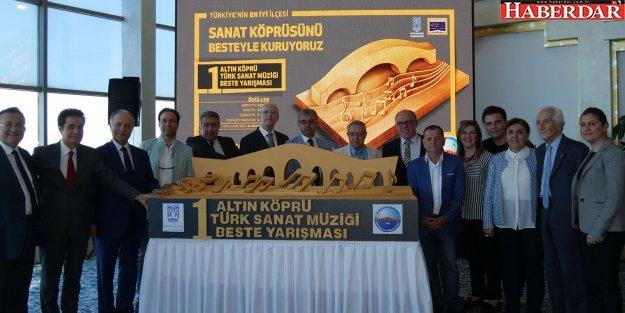 1.Altın Köprü Türk Sanat Müziği Beste Yarışması tanıtıldı