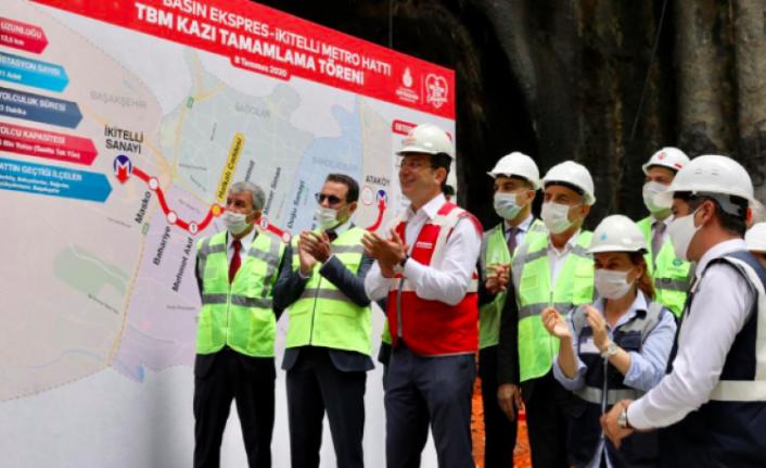Ekrem İmamoğlu, Esenyurt'u selden kurtaracak projenin temelini attı