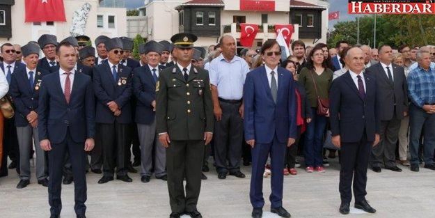 30 Ağustos zaferi Büyükçekmece'de törenlerle kutlandı