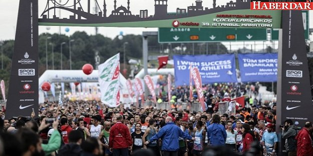 39. İstanbul Maratonu'nu kazananlar belli oldu