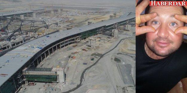 3. havalimanı inşaatında iş cinayeti!