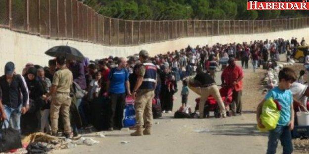 55 bin Suriyeli, bayram için ülkelerine gidiyor