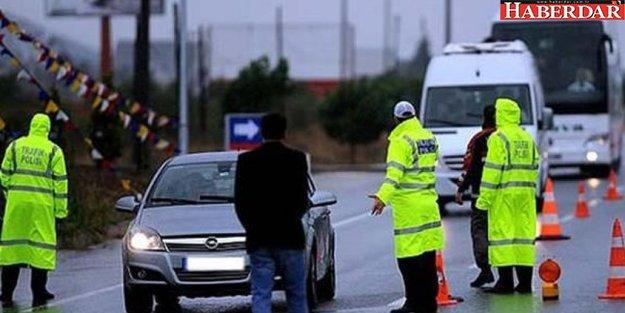 6.3 milyon araç sahibine ceza yolda