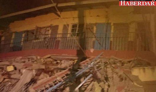 7 katlı bina çöktü: 15 kişi enkaz altında