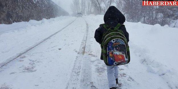 7 Ocak'ta (bugün) hangi illerde okullar tatil edildi?