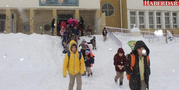 8 Ocak Salı günü okulların tatil olduğu il ve ilçeler