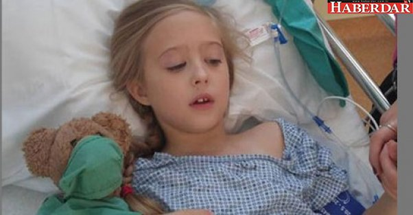 8 yaşında meme kanseri oldu!