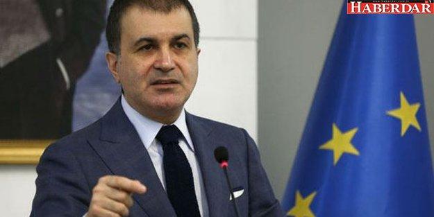 AB Bakanı Ömer Çelik'ten flaş vize açıklaması!