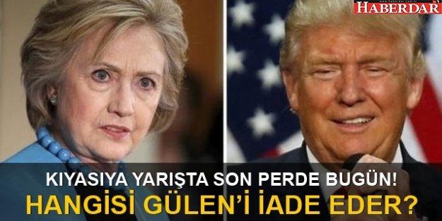 ABD Başkanlık seçimi sonuçları açıklandı mı Clinton mı Trump mı önde?