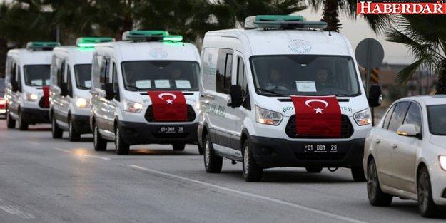 Acı Konvoyu! Yurt Yangınında Ölenlerin Cenazeleri Alındı