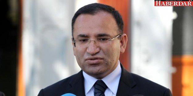Adalet Bakanı Bozdağ: FETÖ'den 32 Bin Kişi Tutuklandı