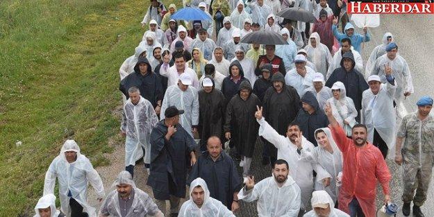 Adalet Yürüyüşü' 5. gününde devam ediyor