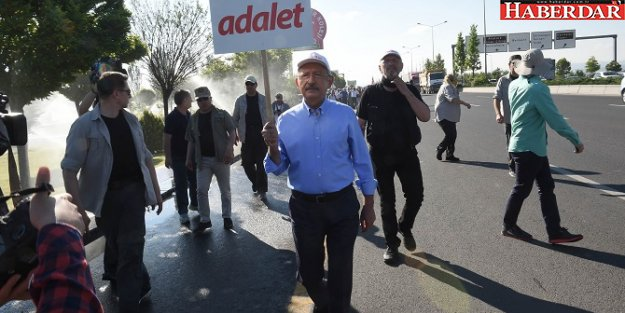 Adalet Yürüyüşü' 7. gününde devam ediyor