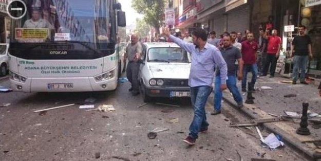 Adana'na ve Mersin'deki HDP Binalarında Patlama!