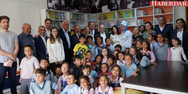 Adnan Kahveci İlkokulu'nda kütüphane sevinci