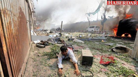 Afganistan'ın başkenti Kabil kana bulandı! Büyük patlamada en az 80 ölü