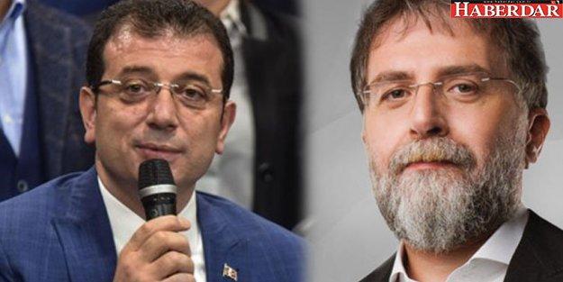 Ahmet Hakan, Ekrem İmamoğlu'nu savundu: 'Kim bilir belki de...'