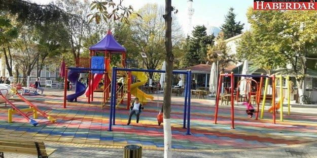 Ahmet Yesevi Parkı tatil keyfine hazır
