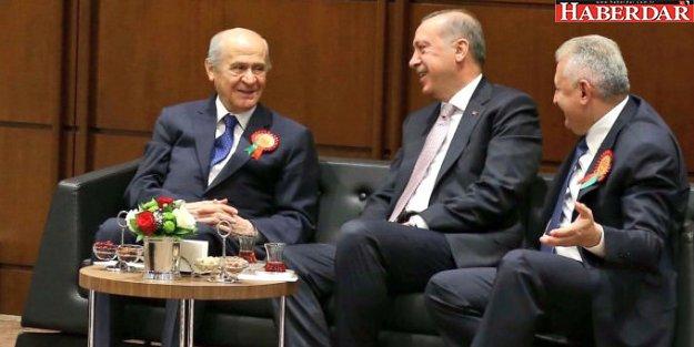 AK Parti Başkanlık İçin Taslak Metni MHP'ye İletti