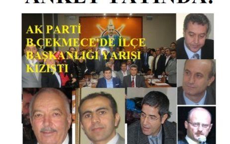 AK PARTİ BÜYÜKÇEKMECE'DE YARIŞ KIZIŞTI!