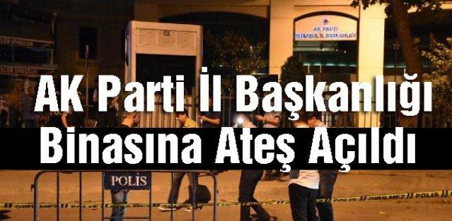 AK Parti İl Başkanlığı Binasına Ateş Açıldı: 1 Yaralı