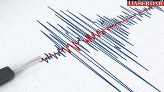 Akdeniz'de 4,5 büyüküğünde deprem