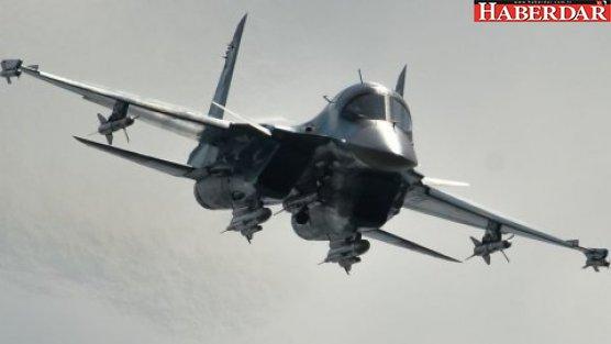 Akdeniz'de savaş uçağı düştü