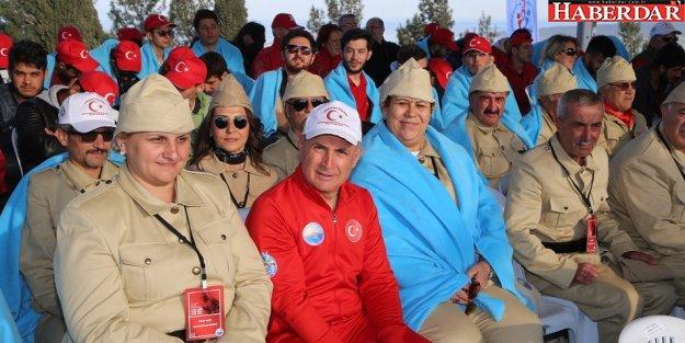 Akgün: Çanakkale ruhu Türk'ün bağımsızlık ateşidir!