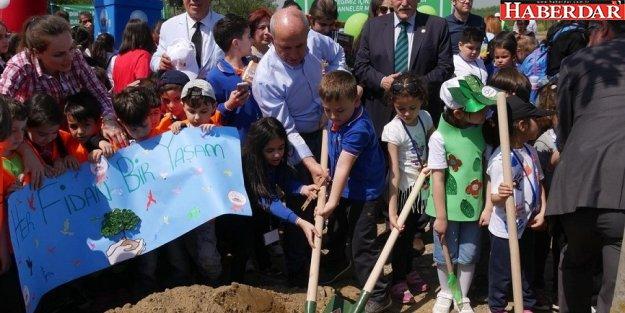 Akgün: Çocuklarımız meyve bahçelerinde büyüyecek!