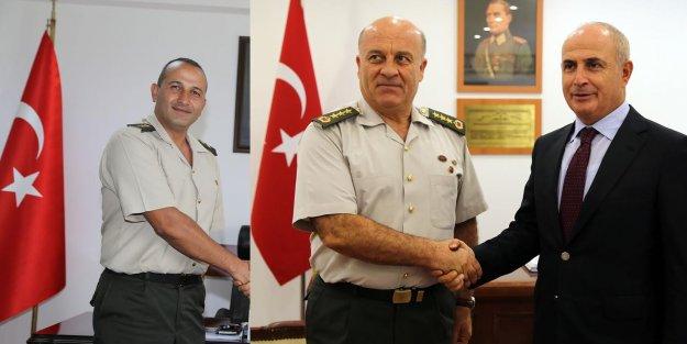 Akgün'den komutanlara ziyaret