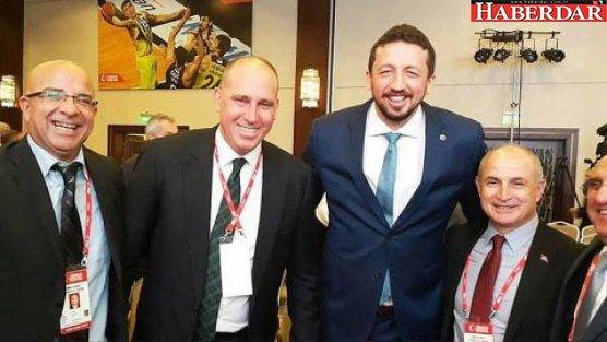 Akgün, Hidayet Türkoğlu'nu kutladı