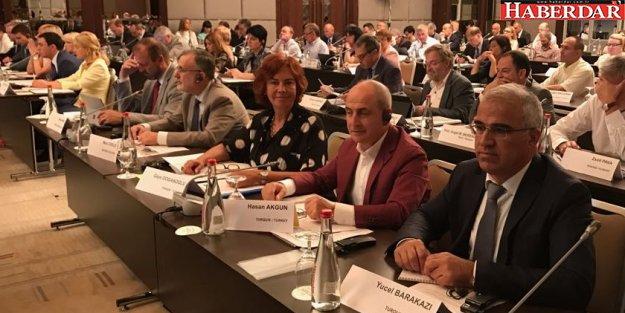 Akgün, Ukrayna'da Kongre İzleme Toplantısı'na katıldı