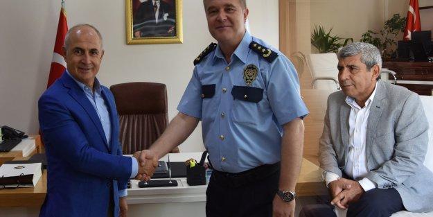 Akgün'den yeni emniyet müdürlerine ziyaret