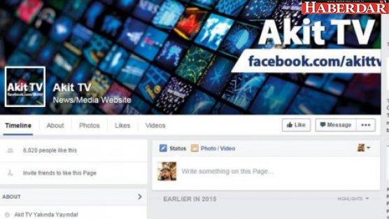 Akit'e bir tepki de Facebook'tan