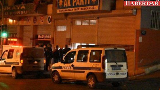 AKP binasına silahlı saldırı!