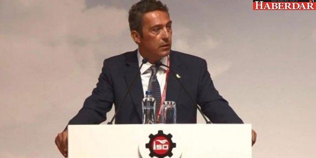 Ali Koç'tan 'darbe girişimi' açıklaması