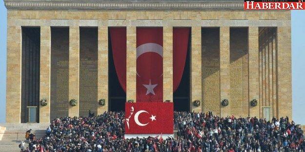 Anıtkabir'de 10 Kasım'da tarihi rekor