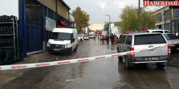 Ankara'da İş Yerinde Patlama: 1 Ölü, 3 Yaralı, 1 Kayıp
